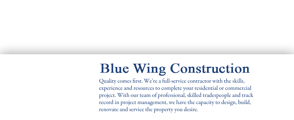 Quality comes first. We're a full-service mechanical contractor with the expertise and proven skill in heating, plumbing, HVAC and pneumatic systems.  Whether it's new construction or renovation, our certified Red Seal plumbers and skilled tradespeople bring vast experience in commercial and residential properties